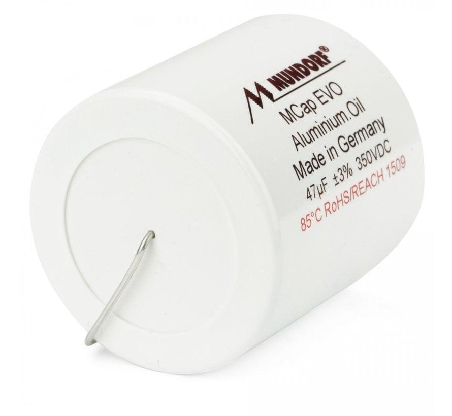 MEO-47T3.350   47 µF   3%   350 V   MCap EVO Oil capacitor