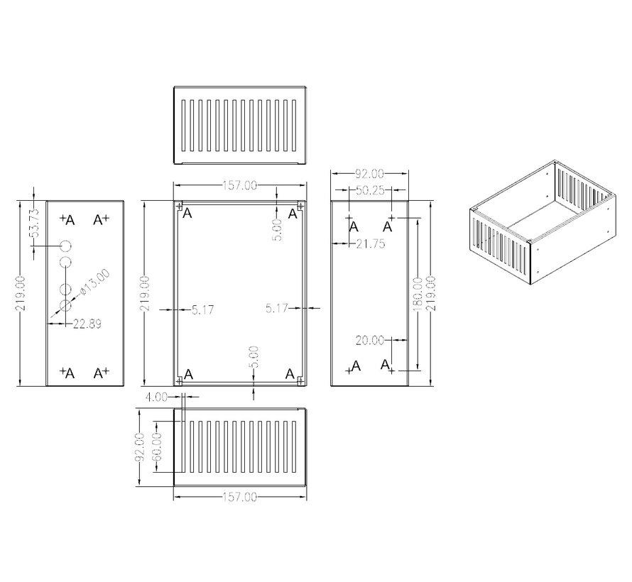 PWR-ICE125 Backbox