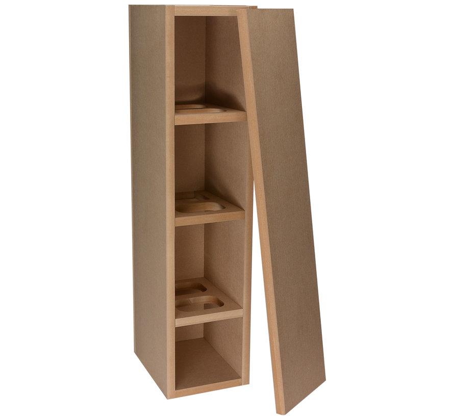 Knock-Down MDF 33 L Tower Speaker Cabinet