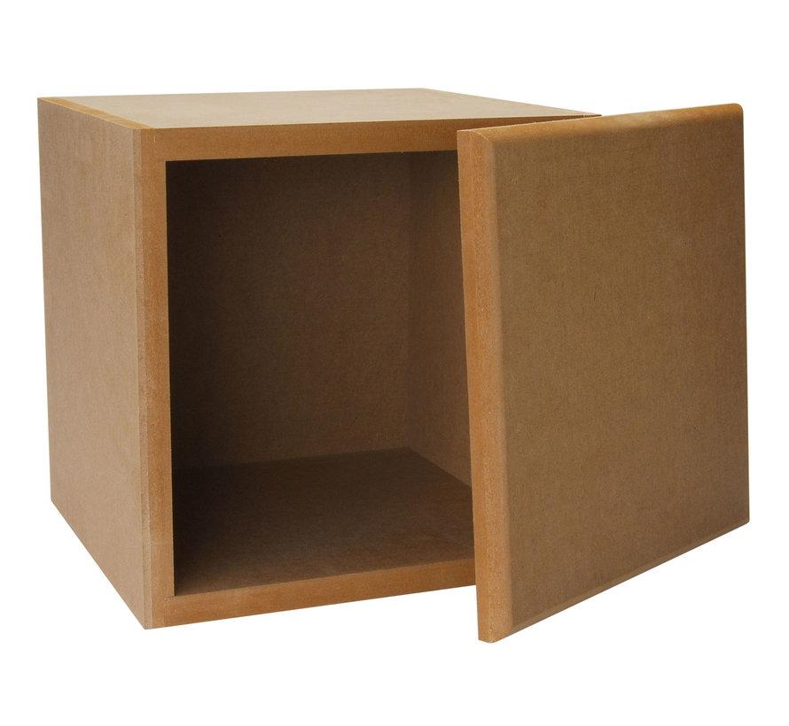 Knock-Down MDF 19 L Subwoofer Speaker Cabinet