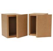 Denovo Audio Micro Bookshelf | 1,13 L | Flatpack
