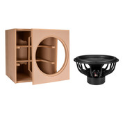 """Denovo Audio 18"""" Ultimax   DIY Kit   Component and Cabinet"""