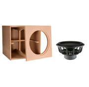 """Denovo Audio 15"""" Ultimax   DIY Kit   Component and Cabinet"""