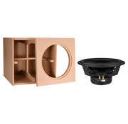"""Denovo Audio 15"""" Reference   DIY Kit   Component and Cabinet"""