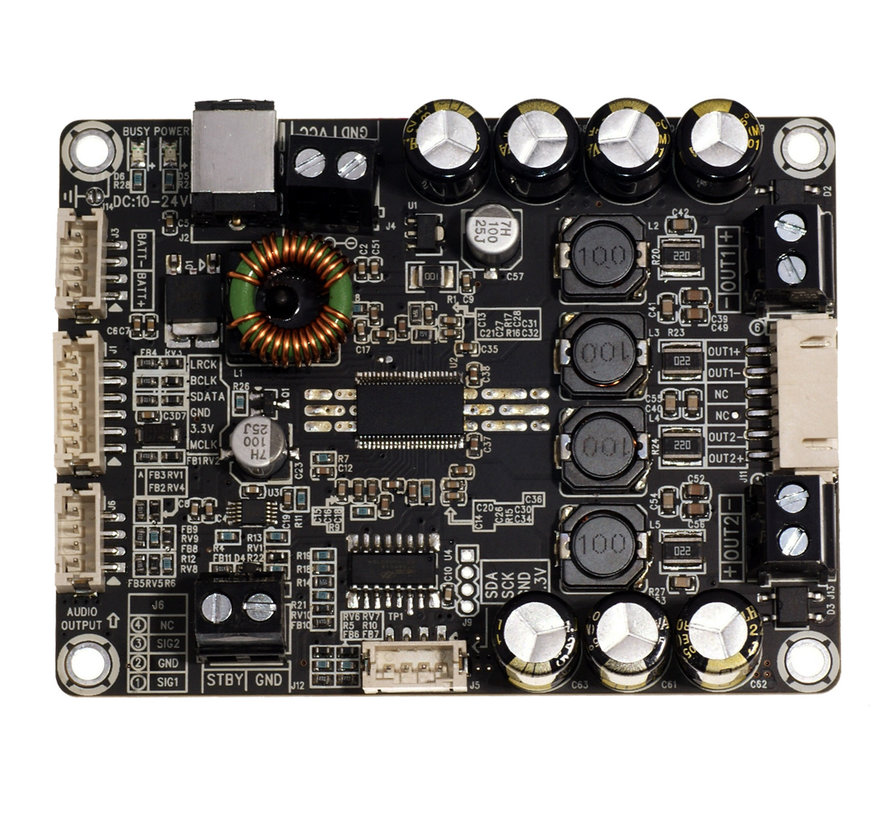 AA-AB32256  2 X 30W  TAS5754  Digital Input Class  D Audio Amplifier Board & DAC