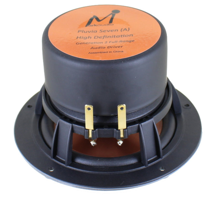 Pluvia 7.2 HD Matched Pair Full-range Woofer Gold