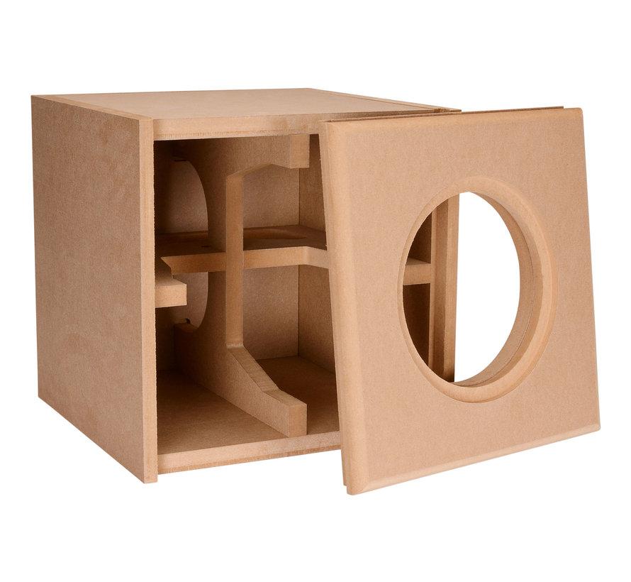 "Knock-Down MDF 0.75 cu. ft. Subwoofer Cabinet for Dayton Audio 8"" Reference Series HO"