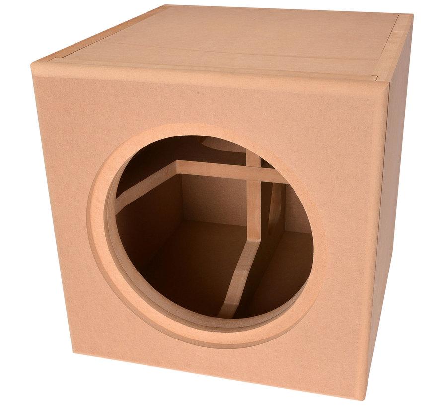 "Knock-Down MDF 1.0 cu. ft. Subwoofer Cabinet for Dayton Audio 10"" Reference Series HO"