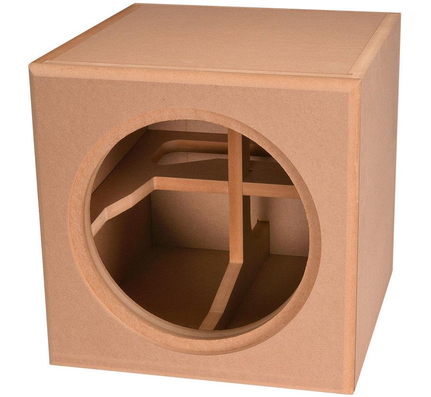 "Knock-Down MDF 1.5 cu. ft. Subwoofer Cabinet for Dayton Audio 12"" Reference Series HO"