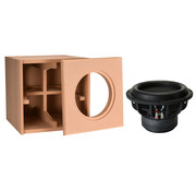 """Denovo Audio 10"""" Ultimax   DIY Kit   Component and Cabinet"""