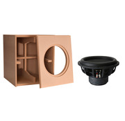 """Denovo Audio 12"""" Ultimax   DIY Kit   Component and Cabinet"""