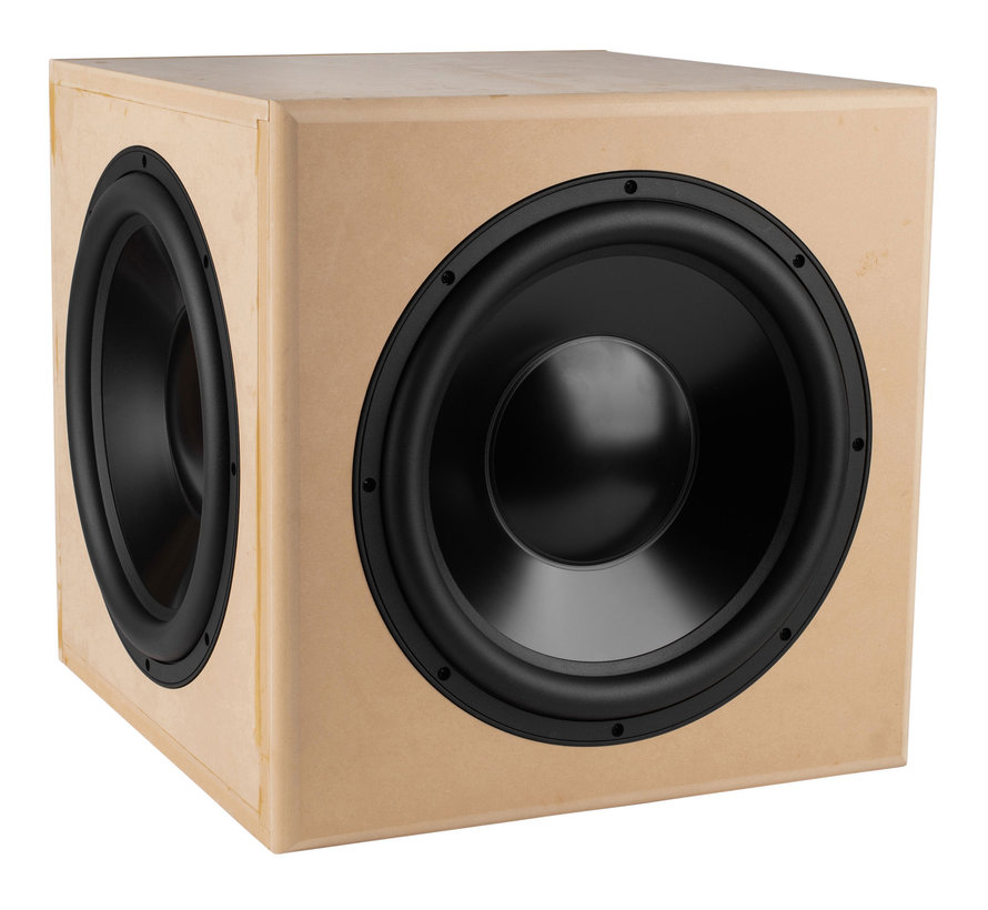 """Reference 15"""" With Dual Passive Radiator Subwoofer Kit"""