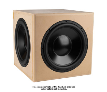 "Denovo Audio 18"" Reference Passive   DIY Cabinet   Flatpack"