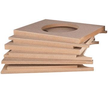 "6-1/2"" Down Firing | DIY Cabinet | Flatpack"