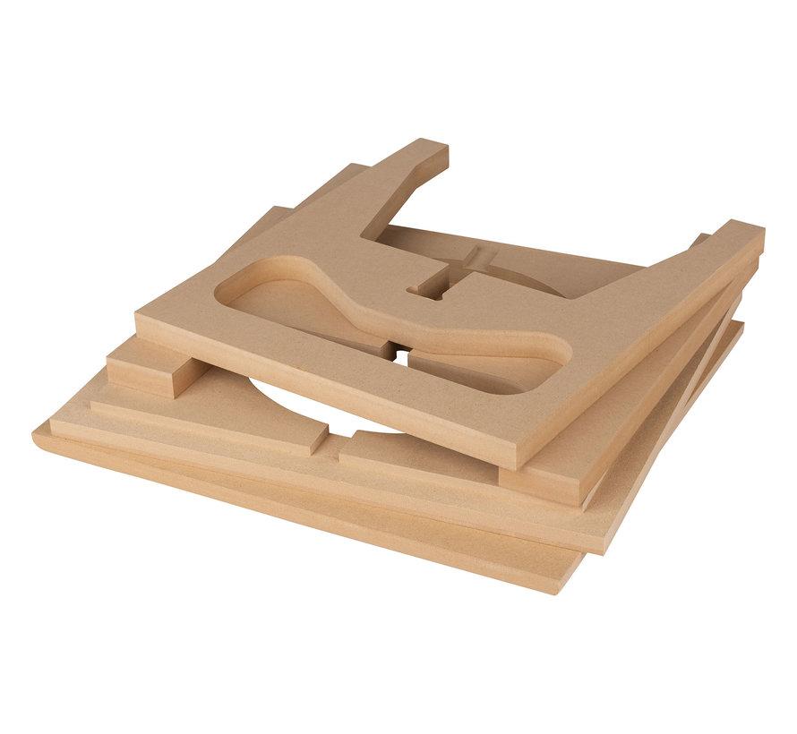 "10"" Subwoofer | 28 L | Medium Density Fiberboard Starter Kit"