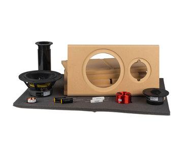 Denovo Audio Samba MT | DIY Kit | Components and Cabinets