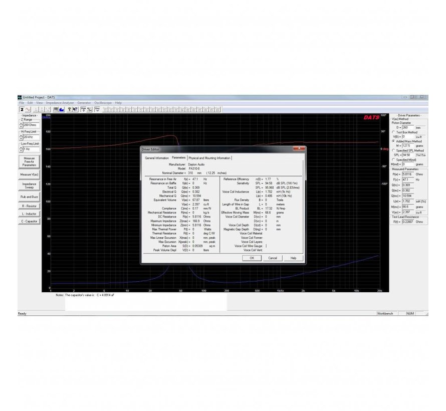DATS V3 Computer Based Audio Component Test System