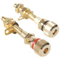 Dayton Audio BPA-38G HD Binding Post Pair Gold
