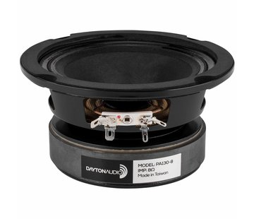 Dayton Audio PA130-8 Mid-range Woofer