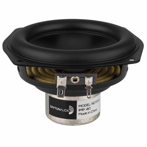 "Dayton Audio ND105-4 4"" Aluminum Cone Midbass Driver"