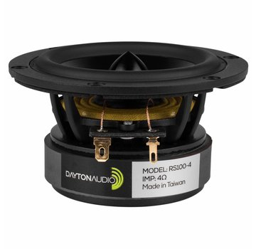 Dayton Audio Reference RS100-4 Full-range Woofer