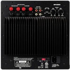 Dayton Audio SPA250 250 Watt Subwoofer Plate Amplifier