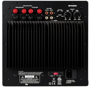 Dayton Audio SPA250 Subwoofer Plate Amplifier