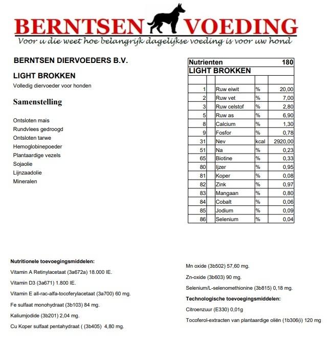 Berntsen Berntsen Light Brok