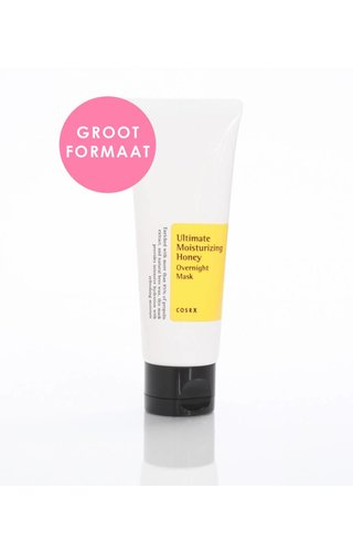 COSRX Ultimate Moisturising Honey Overnight Mask (groot)