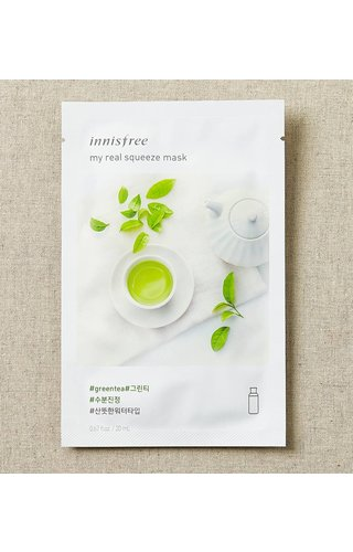 Innisfree My Real Squeeze Mask Greentea