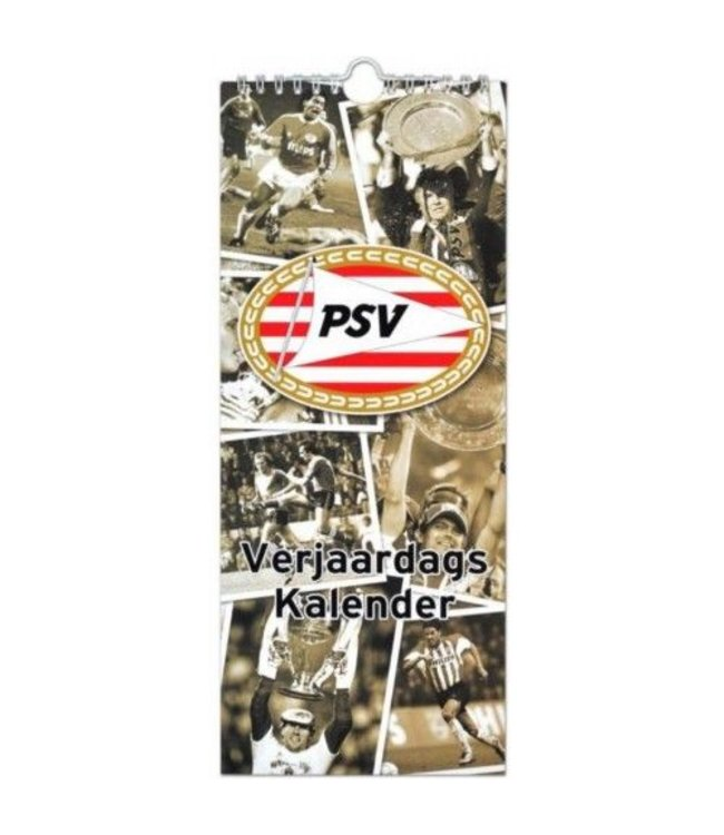 PSV Verjaardagskalendar