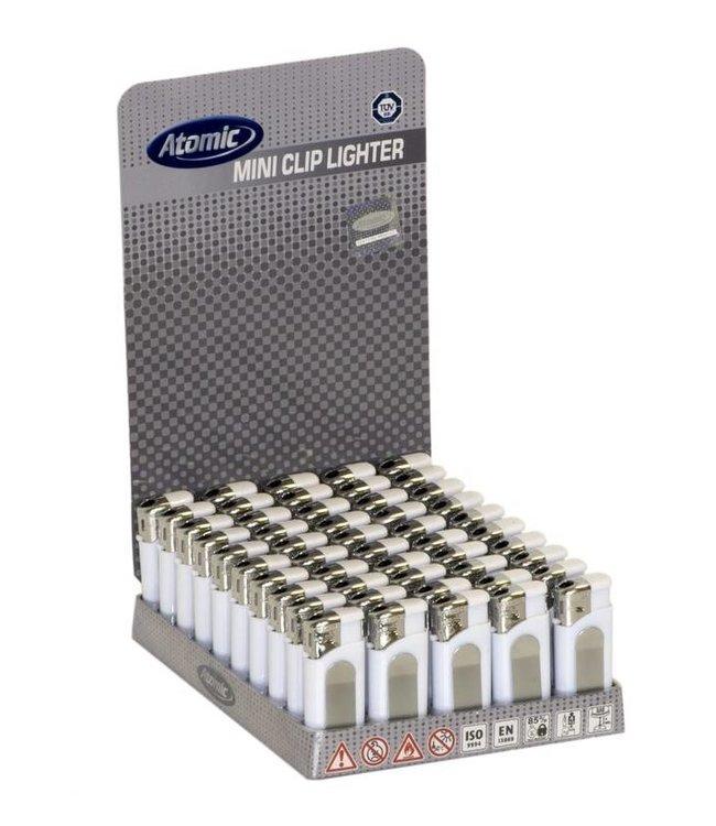 Atomic Aansteker Mini Wit 50x