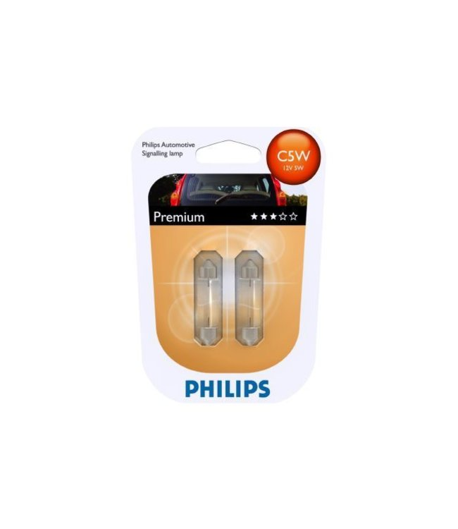 Philips Autolamp C5W 12v op blister