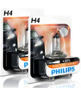 Philips Autolamp H4 12v op Blister