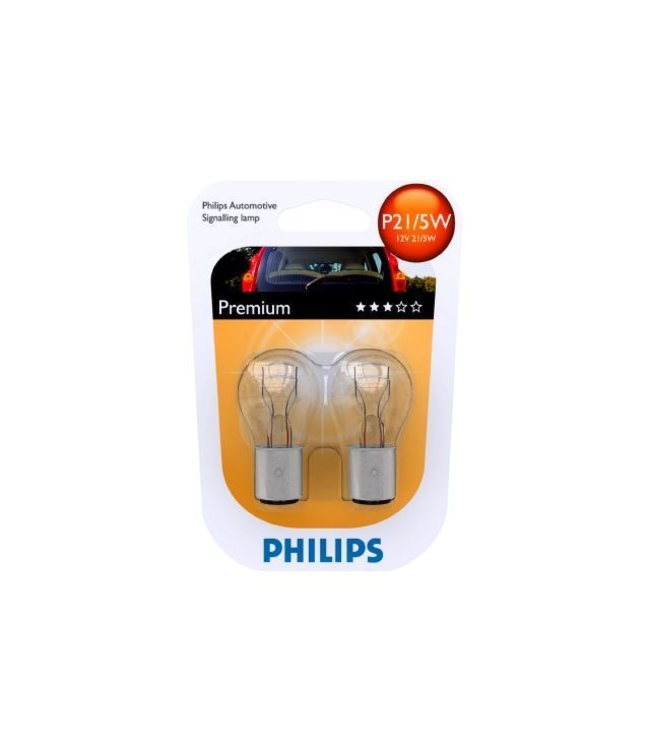 Philips Autolamp P21/5  12v op blister