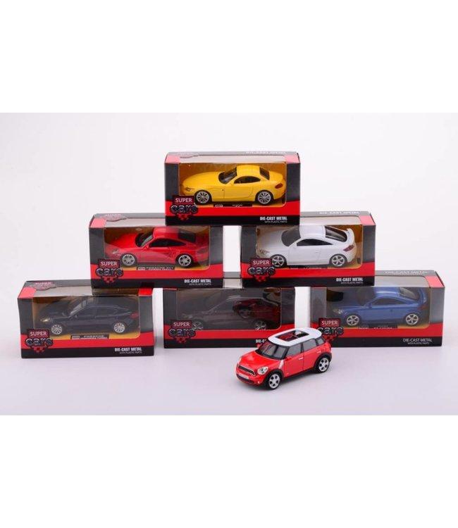 Super Cars 4 inch Die cast