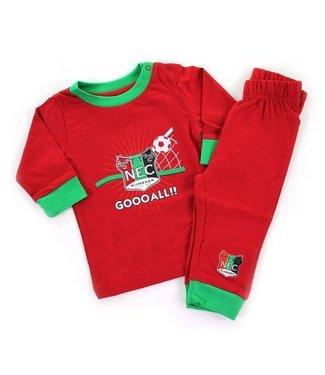 NEC Pyjama Rood Goal   74/80