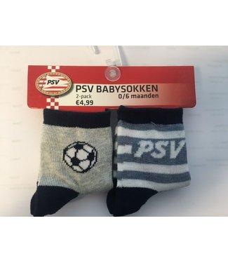 PSV Babysokken 2 pack 12-18 maanden