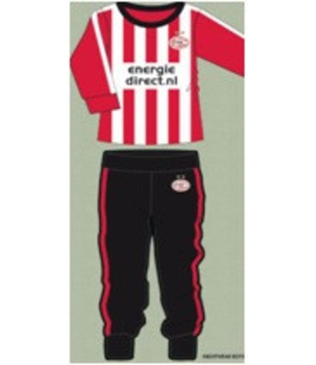 PSV Pyjama Rood Wit 110/116