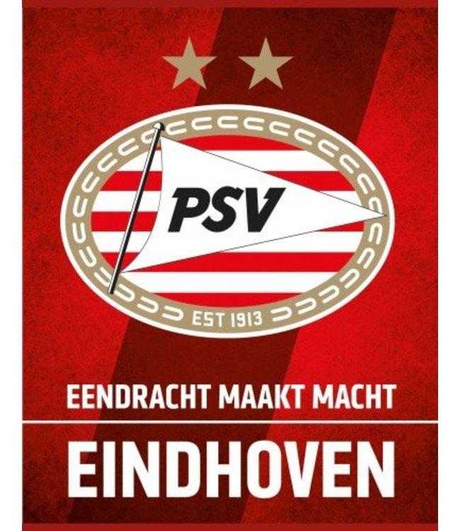 PSV Schrift A4 lijn