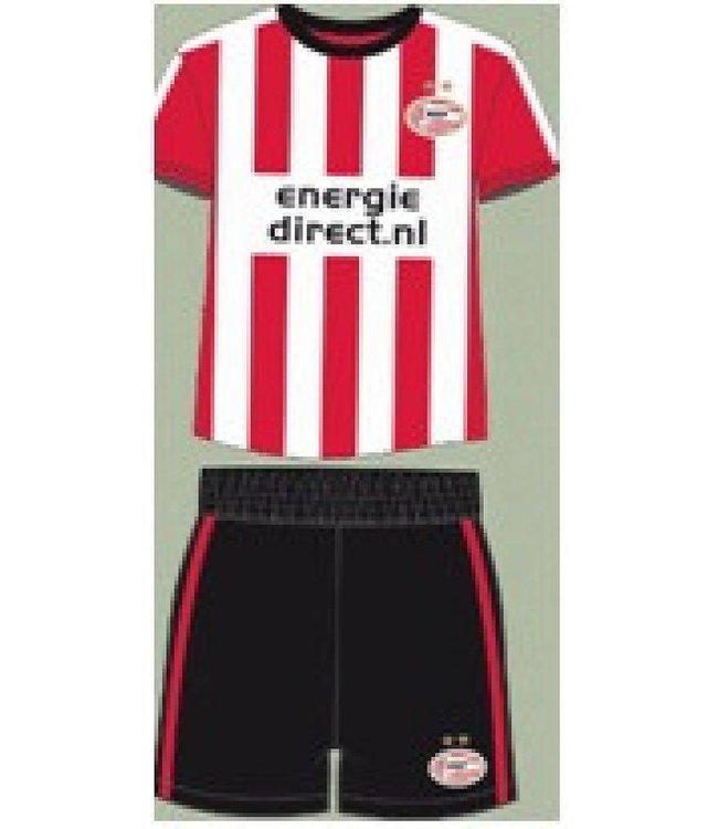 PSV Shortama Wit Rood 86/92