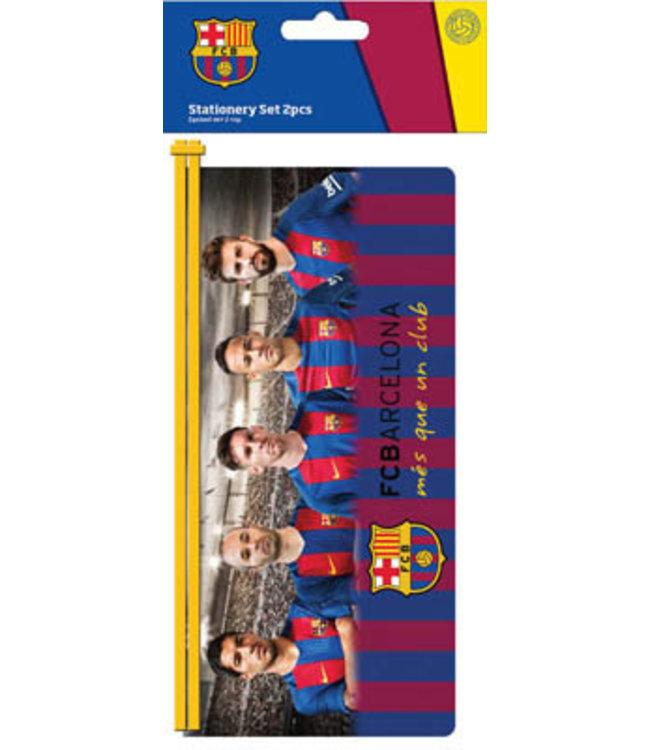 FC BARCELONA Etui pvc spelers
