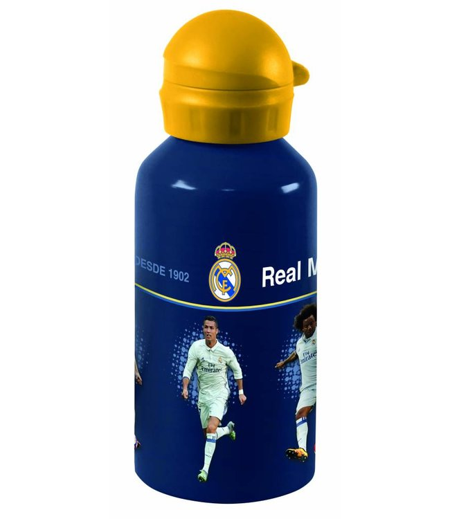 REAL MADRID Aluminium Bidon 500 ml Spelers
