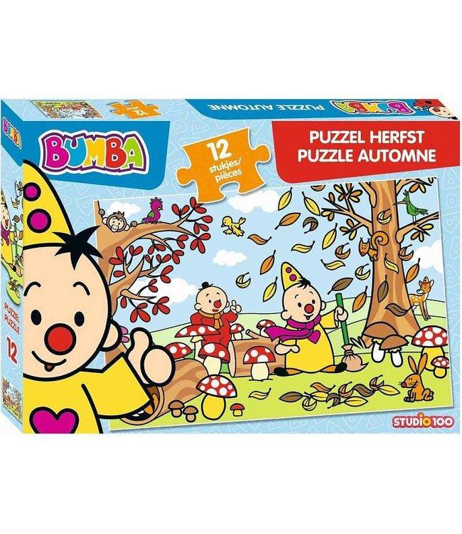 BUMBA Puzzel Herfst 12 pcs