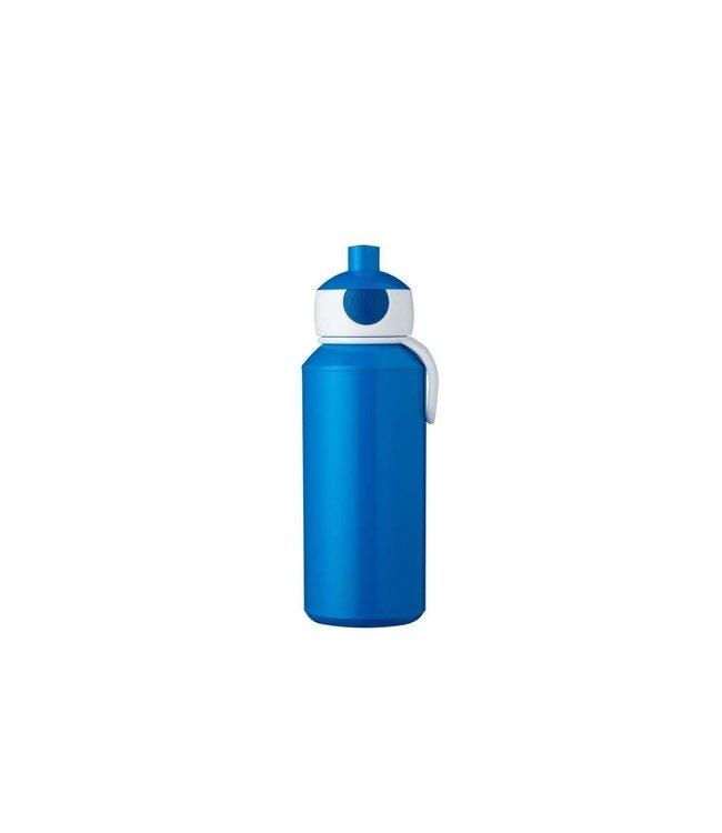 Drinkfles Campus Pop up 400 ml Blauw