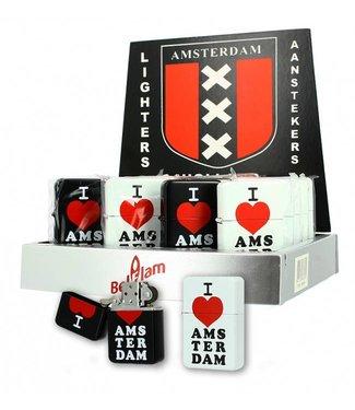 Amsterdam benzine Aansteker I love Amsterdam