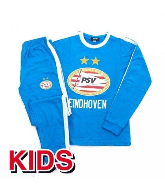 PSV Pyjama Logo Blauw Wit