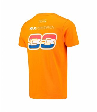 Max Verstappen Oranje T-shirt 33