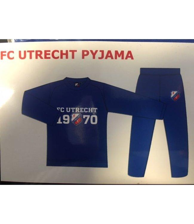 FC UTRECHT Pyjama Blauw 140