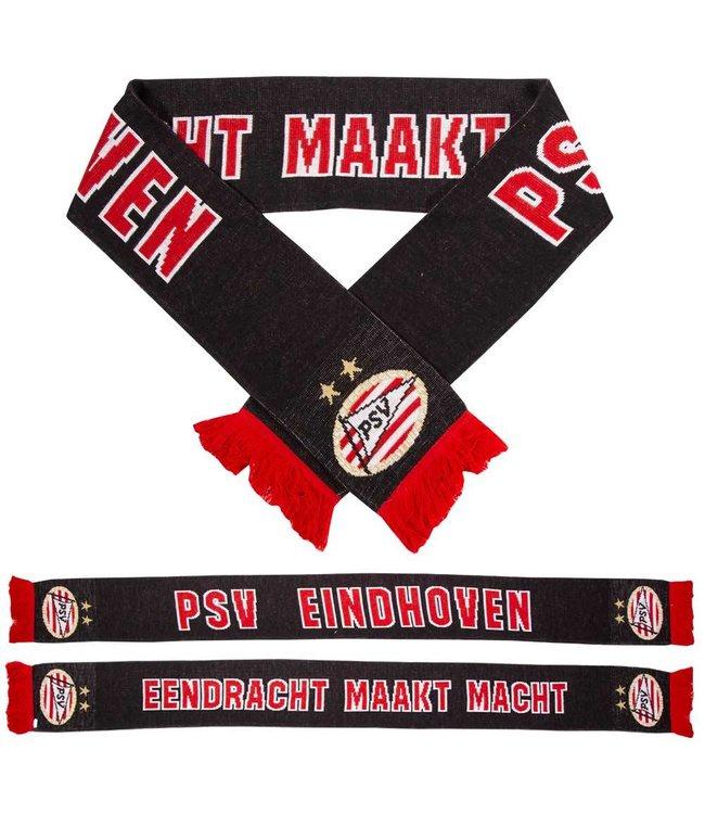 PSV Sjaal EMM Zwart-Rood